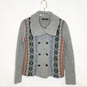 Kerisma Double Breasted Wool Sweater